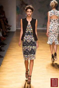 Nicole Miller Spring 2014 Collection  