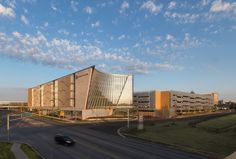 Indiana University Health Neuroscience Center of Excellence in Indianapolis, IN by Cannon Design Healthcare Architecture, Commercial Architecture, Lightning Rod, Center Of Excellence, Engineered Stone, Indiana University, Neuroscience, Cannon, Serenity