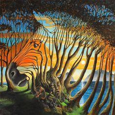 L'ART DE GARY Soszynski - PEINTURES ORIGINALES - Surréalisme