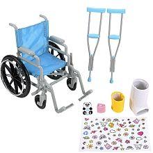 journey girls wheelchair set