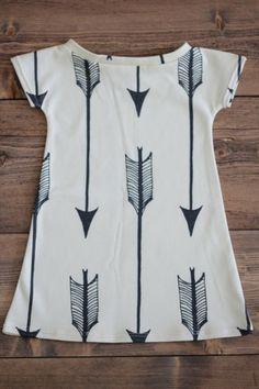 Arrow Print Play Dress