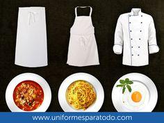 La mejor imagen ¡adentro y fuera de la cocina!  #UniformesChef #Restaurantes #Colombia #Uniformes #UniformesparaTodo  www.uniformesparatodo.com