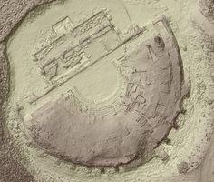 Rilievo 3D con droni del sito archeologico di Sofratike, città romana di Hadrianopolis, Sofratikë, 2014 - GeoInformatiX, Alberto Antinori