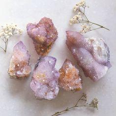 Beautiful Amethyst Spirit Quartz WWW.UNICORNMANOR.COM