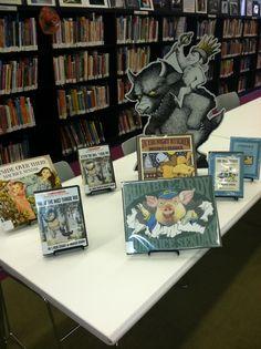 Dongan Hills branch has Maurice Sendak's books on display...
