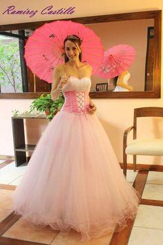 #quinceañera #15 #años #rosa #pink
