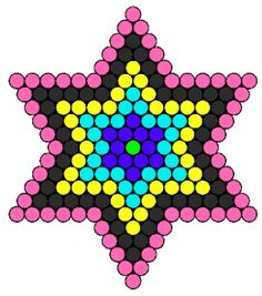 Star perler bead pattern and lots more