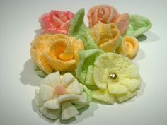 ~ Sugar Teachers ~ Cake Decorating and Sugar Art Tutorials: Marshmallow Fairy Flowers