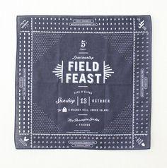 field feast 2013 invitation. stitch design co.