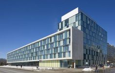 Pond Road Student Residence by Canadian Universities, Building Skin, York University, Dormitory, Study Abroad, Ontario, Pond, Multi Story Building, Interactive Map