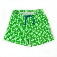 lily balou Shorts Albert Elephants green