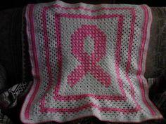 Ravelry: Awareness ribbon lapghan pattern by Pamela Batchelor