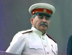 Face of evil: Colour Images of Joseph Stalin. Click the pic for more...