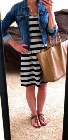Thrifty Wife, Happy Life: What I Wore- Work Week Wardrobe