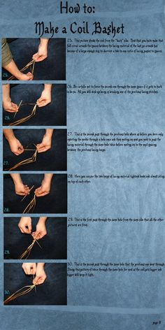 How to make a coil basket#Repin By:Pinterest++ for iPad#