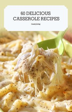 What's better than a hot, fresh casserole straight out of the oven? Not much—except the knowledge that you've always got a foolproof recipe for one in your back pocket at all times. collection ad inspiration about dinner recipes Cooker Recipes, Crockpot Recipes, Chicken Recipes, New Recipes, Dinner Recipes, Favorite Recipes, Healthy Recipes, Easy Recipes, Recipies