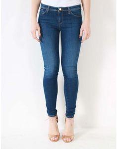 Armani Jeans Blue Pocket Detail Jeans