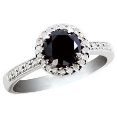 Black Diamond ring....want It! (:
