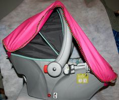 Waterproof Patent Pending Baby Car Seat Cover by RaineeBoo on Etsy