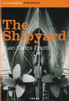 Juan Carlos Onetti's The Shipyard is a novel about faith. In order to give some sort of form to their lives, Larsen, and his two fellow workers Galvez and Kunz run through the motions of work, like atheists going to mass. The shipyard is a rotting cathedral of commerce and Jeremias Petrus a sham deity, or perhaps more akin to the great tempter. I Love Books, My Books, Modern Novel, Books To Read Before You Die, Atheist, Music Notes, Deities, Sci Fi, Novels