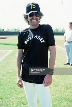 Don Henley #eagles May 17, 1978 - Eagles vs. Rolling Stone Magazine softball game @ UCLA, Los Angeles CA