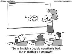 This explains the discrepancy between my verbal reasoning score and my quantitative reasoning score on the GRE. Math Puns, Math Memes, Science Jokes, Teacher Memes, Math Humor, Grammar Humor, Biology Humor, Chemistry Jokes, Funny Math Jokes