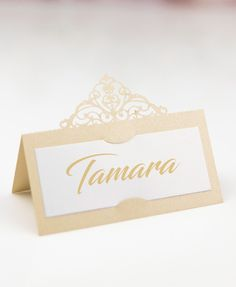 Imperial Name Place Cards Wedding Table, Wedding Day, Name Place Cards, Thank You Gifts, Wedding Accessories, Compliments, Card Stock, Choices, Champagne