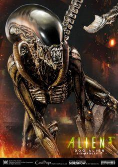 """[Info e Preordini] Prime 1 Studio: Dog Alien """"Alien Statue - Gokin.it by MetalRobot Saga Alien, Alien Film, Alien 1979, Alien Art, Alien Alien, Alien Creatures, Fantasy Creatures, Ninja Turtle Figures, Giger Alien"""