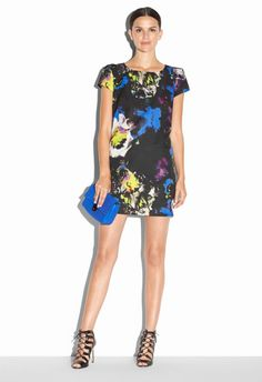 Love this: Midnight Floral Chloe Dress @Lyst