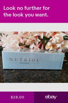 Nu Skin nuskin Nutriol Hair Shampoo - Brand New and Sealed Nutriol Shampoo, Anti Aging, Nu Skin, Skin Care, Health, Ebay, Products, Self Care, Salud
