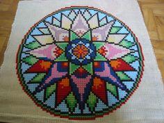 Mandala em Cruz Duplo