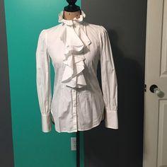 Women's Ralph Lauren Dress Shirt Worn once. Excellent condition. Ralph Lauren Tops Button Down Shirts