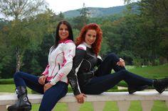 Shox Alice motoros női bőrdzseki fehér pink fekete motorosbarát áron be8bb4722d