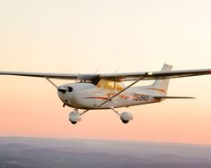 Cessna 172, Michael is learning to fly one of these at K State