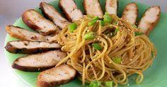 Craving Comfort: Funky Chicken & Sesame Noodles (Re-Do)