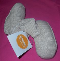 Gymboree Crib Shoes Baby Boy Brand New Baby size 2 size 3-6 months  #Gymboree #CribShoes