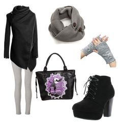 Designer Clothes, Shoes & Bags for Women Winter Looks, Shoe Bag, Grey, Link, Polyvore, Stuff To Buy, Shopping, Collection, Shoes