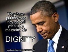 Unprecedented obstruction and disrespect! Makes me love him even more!!