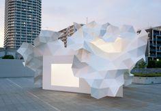 ArchiLab 2013 al FRAC di Orléans - Akihisa Hirata, Bloomberg Pavilion, 2011