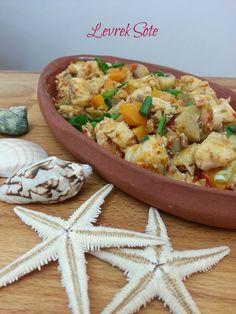 Levrek Sote Balık Tarifleri Levrek Sote Nasıl Yapılır Fırında pişirmek için aldığım levreği,...