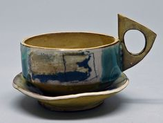 slab built pottery mugs - Google Search