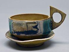 slab built pottery mugs - Google Search