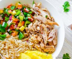 Low in fat and calories, this slow cooker Spanish-style Citrus Mojo Chicken is as flavorful as it is healthy. In this slow cooked chicken, Mojo sauce and chicken help each other getting more flavor...