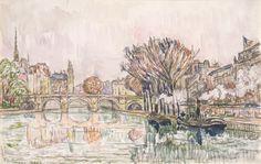 The Pont Neuf, Paris by Paul Signac