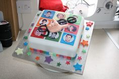 Glee/Blaine Anderson Cake :) Made with  love!