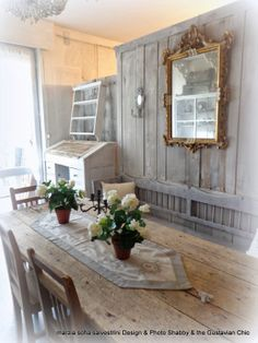 Is Shabby Chic! The Gustavian Chic