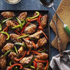 Ailes de poulet à l'asiatique