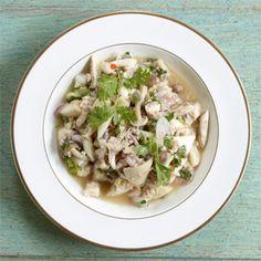 Rezept von Jean-Pierre Gabriel: Thai-Salat mit Pilzen