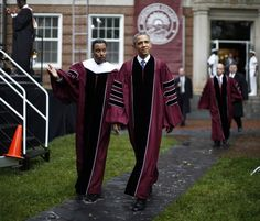 President Obama gets personal about race and manhood in a speech to graduates of historically black Morehouse College.