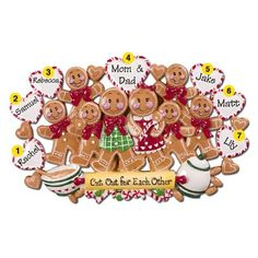 family christmas ornaments - Google Search